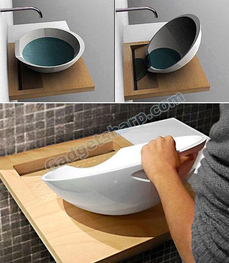 Plugless Sink by Maja Ganszyniec