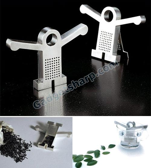 The T-Man Tea Strainer