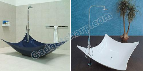 Leggera Bathtub by Gilda Borgnini