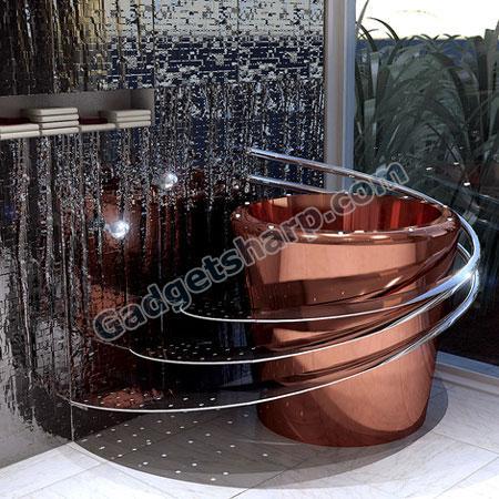 Electronic Bathtub by Wild Terrain Designs