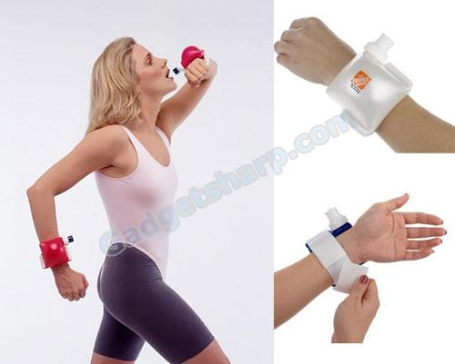 Wrist Strapped Water Bottles