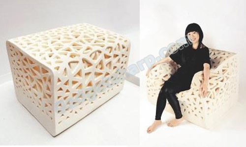 Breathing Chair Made of Foam