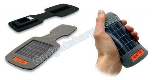 Solar Strap to a folding tab