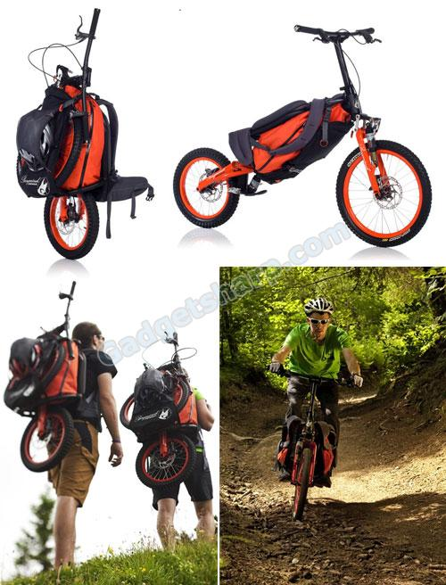 Cool Folding Backpack Bicycle