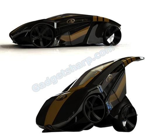 BRB Evolution Folding Concept Car