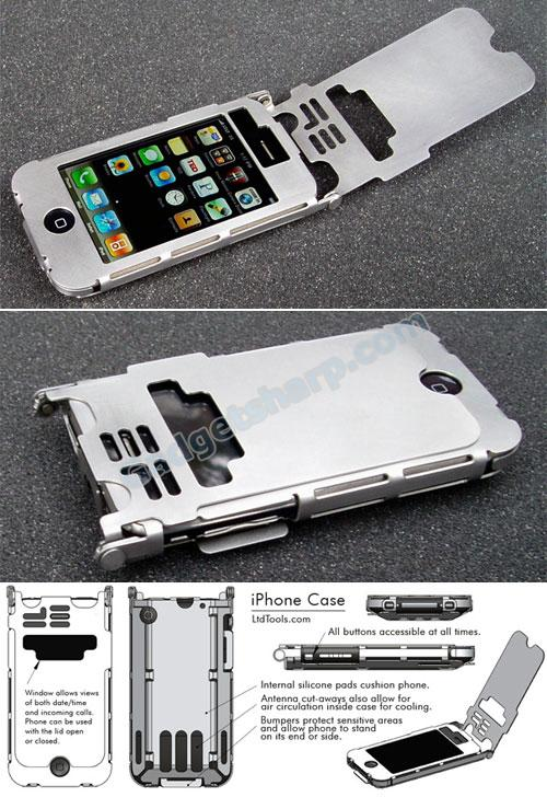 Sexy Steel Case For iPhone