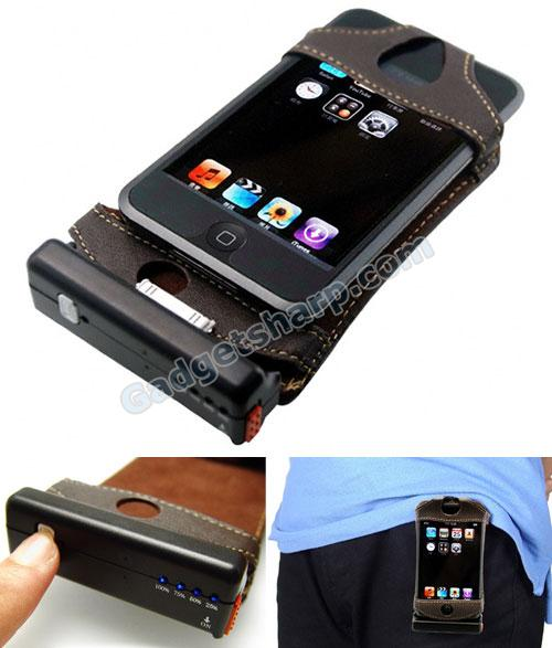 iPhone Case with Rechargeable Battery