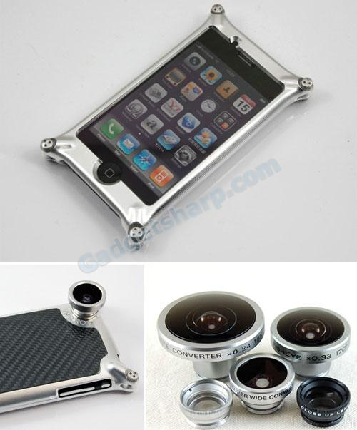Factron Quattro case for iPhone 3GS