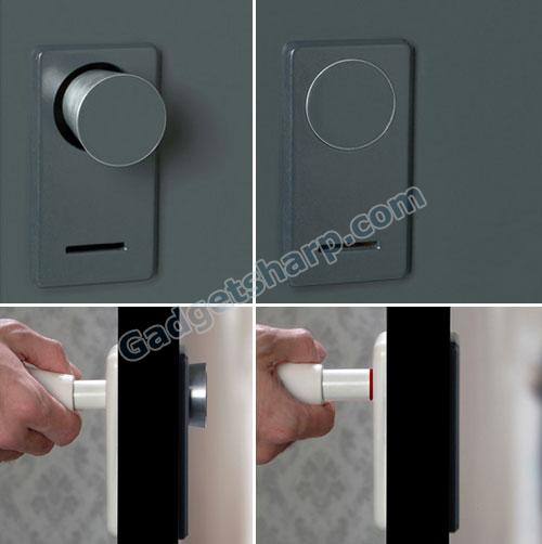 Disappearing Doorknob Concept
