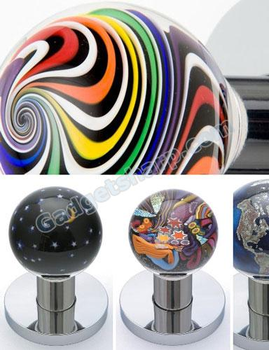 Art Glass Doorknobs