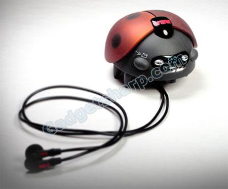Ladybug MP3 Player for Child by Mark Honschke