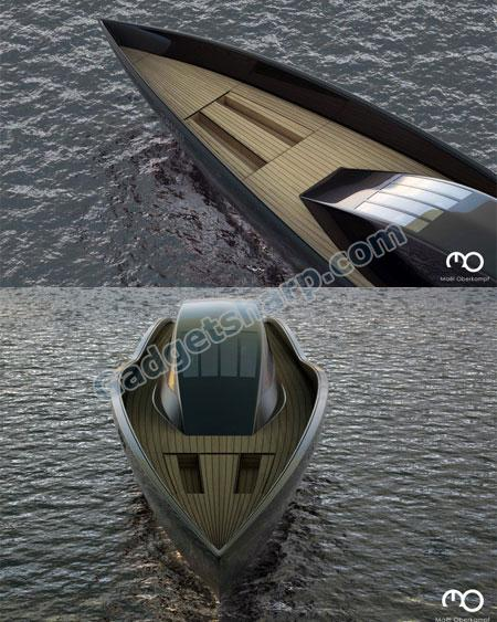 The Raven Yacht by Ma?l Oberkampf