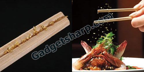 Kinbashi Gold Flake Chopsticks bring back bubble era memories