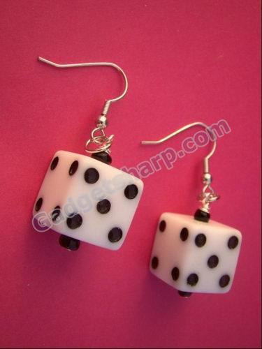 Lucky Dice Earrings