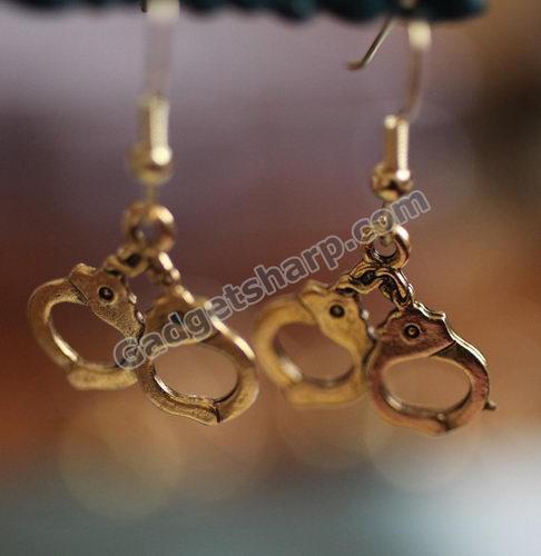 gold cuff earrings