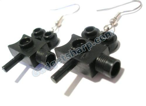 LEGO Video Camera Earrings