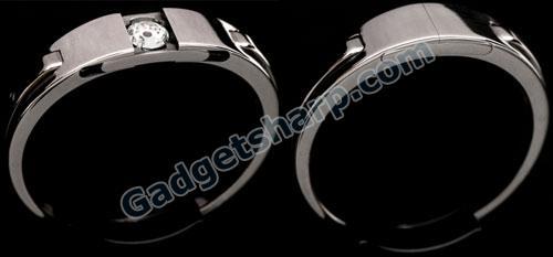 Hidden Diamond Ring