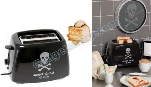 Skull and Crossbones Toaster