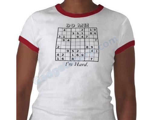Funny Sudoku Shirt