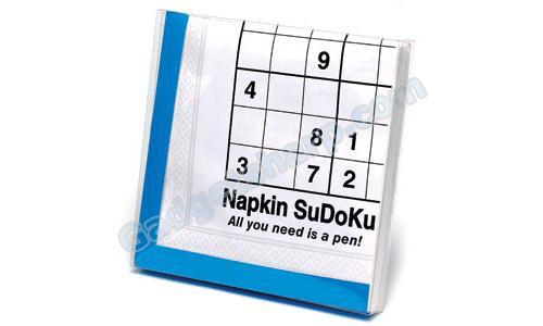 Sudoku Napkins