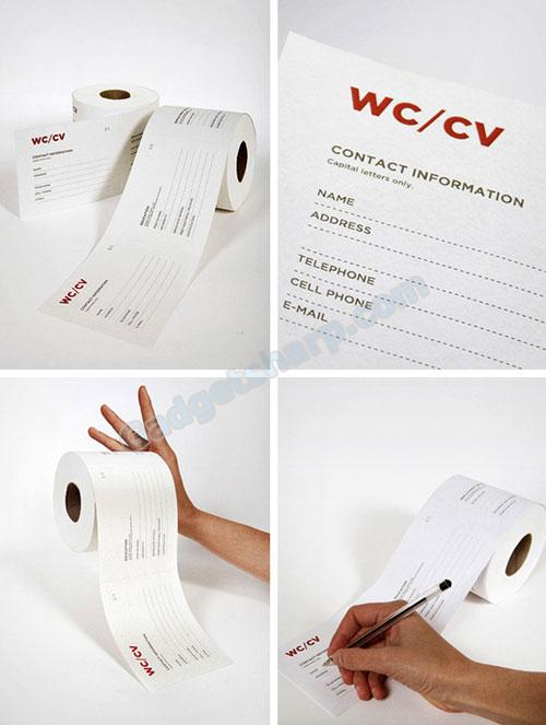 WC/CV Toilet Paper Roll