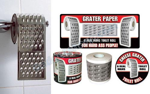 Cheese Grater toilet paper