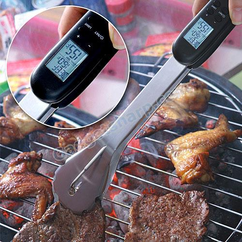 Digital BBQ Tongs
