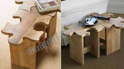 16 Jigsaw Puzzle Inspired Product Designs Gadget Sharp