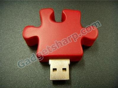 2GB JIGSAW FLASH DRIVE