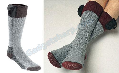 Rechargeable Heated Socks Keep Your Feet Nice And Toasty