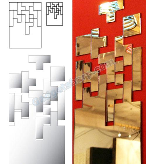 Tetris mirror reflects your puzzled expression