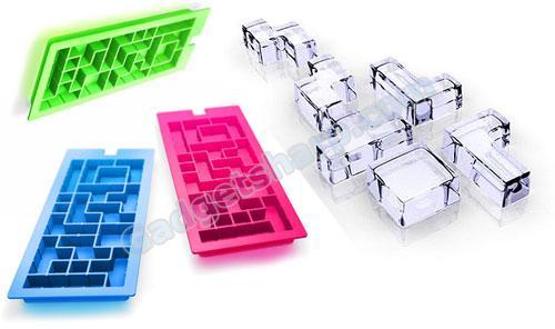 tetris + ice cubes = icetris