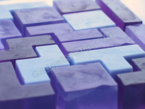 Tetris soap set