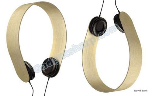 David Burel Plywood Headphones