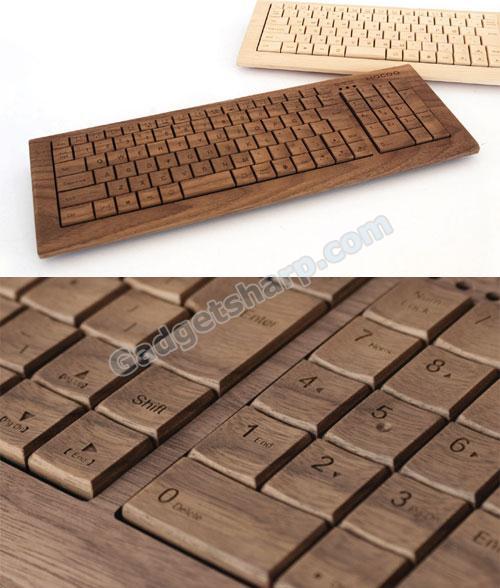 Wooden Computer Keyboard