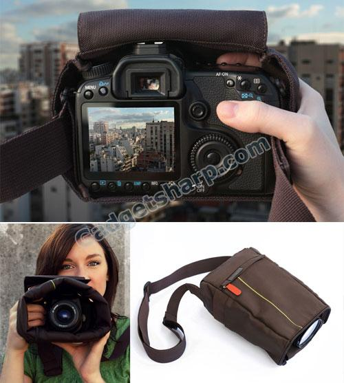 Cloak Bag Discreet Shoot-Through SLR/DSLR Camera Bag