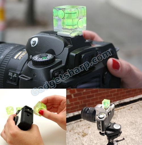 Bubble Level for Camera