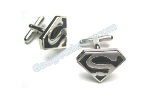 Funny Superman Cufflinks : Superhero Cufflinks