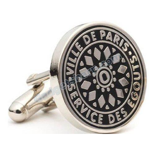 Paris Manhole Cover Cufflinks