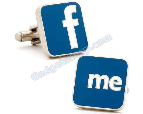Facebook Me Cufflinks Cufflinks