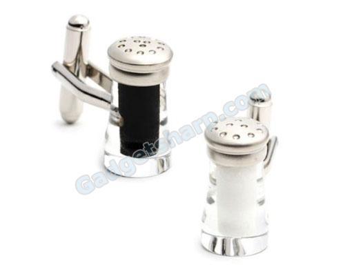 Salt and Pepper Shaker Cufflinks