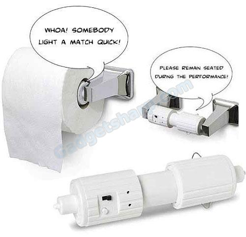 Talking TP- Talking Toilet Paper Roll Holder