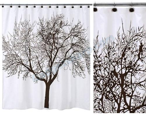 Tree Shower Curtain Set
