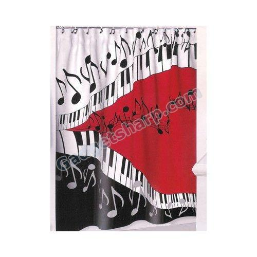 Juleez Music Shower Curtain