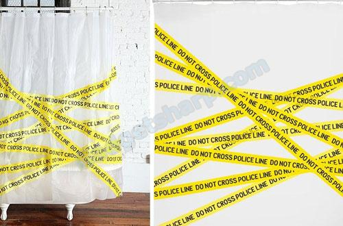 Shower Curtain - Police Line Do Not Cross