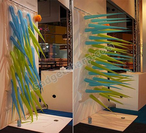 15 cool and unusual shower curtain designs gadget sharp - Rideau douche original design ...