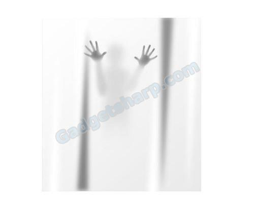 Scary Shadow Shower Curtain