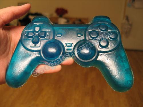 Sony Playstation video game controller glycerin soap