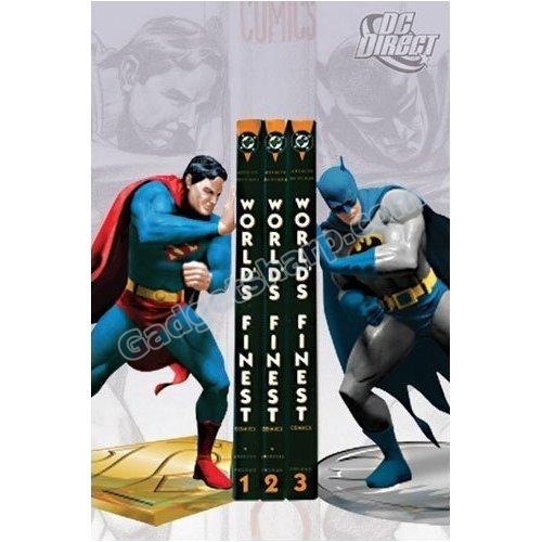 Superman/Batman: World's Finest Bookends