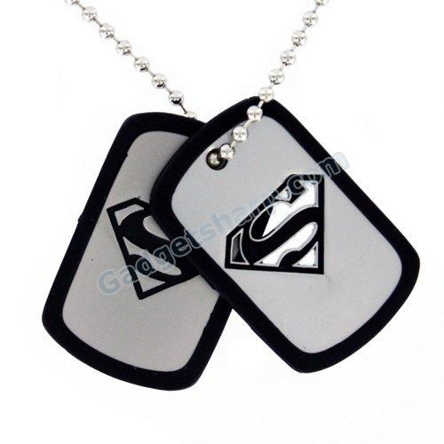 Superman 2-Piece Dog Tag Set